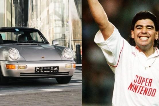 Subastarán el Porsche 911 de Diego Maradona que adquirió durante su estadía en Sevilla