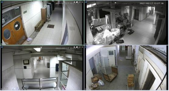 Las cámaras del hospital se incorporan al Centro de Monitoreo Urbano de Comodoro