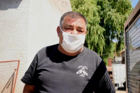 Él es Héctor Cufoni, quien contó su historia. (Foto: El Caletense)