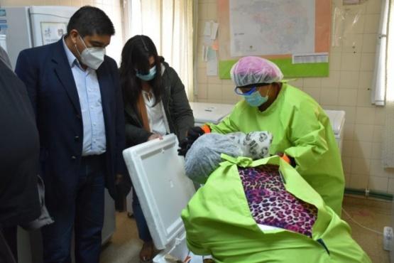 Autoridades realizaron recorrida en los hospitales provinciales
