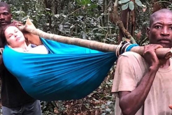 Ashley Judd mostró dramáticas fotos de su accidente en el Congo y contó que la rescató