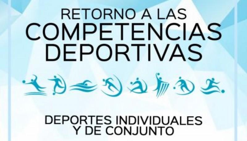 Presentaron el protocolo de retorno a la competencia deportiva