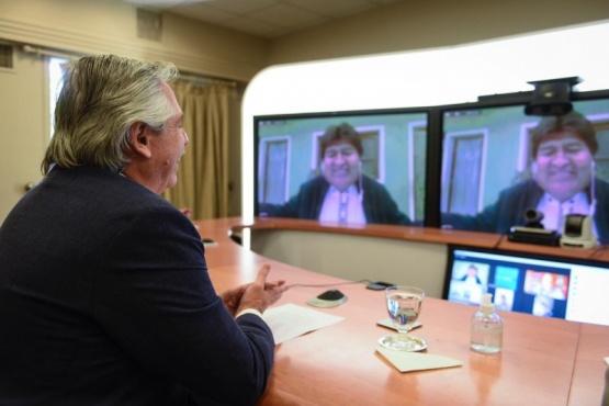 Nominaron a Alberto Fernández al Nobel de la Paz por su ayuda a Evo Morales