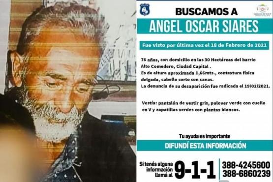 Buscan a Siares Ángel Oscar