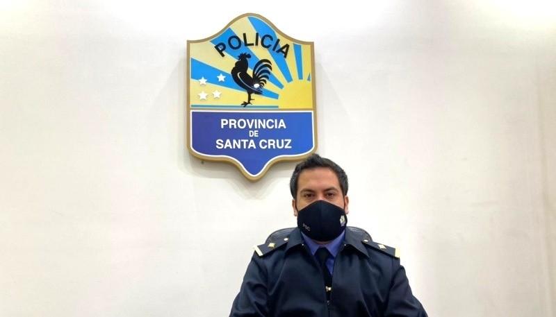 Elbio Ramírez, vocero de la Policía de Santa Cruz