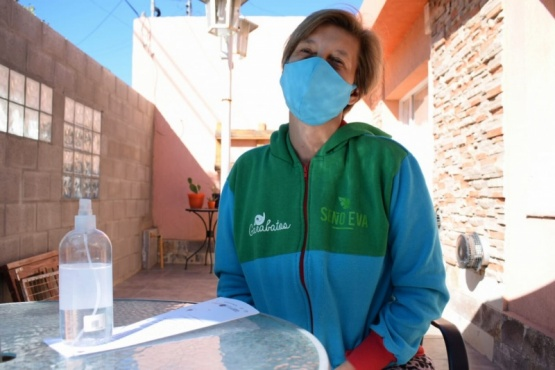 Evangelina Fernández, propietaria del jardín maternal