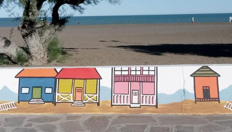 La historia de Playa Unión a través del arte