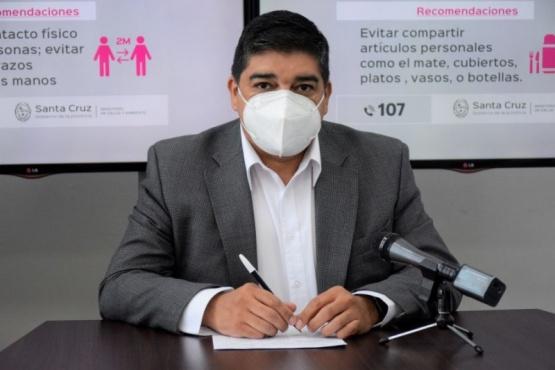 MInistro de Salud, Claudio García.