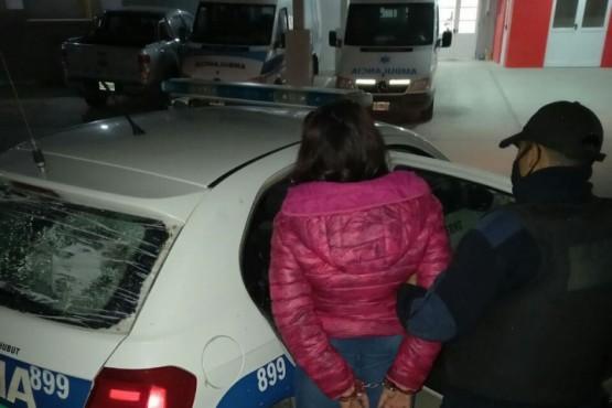 Una mujer fue detenida tras sustraer bebidas alcohólicas en Comodoro Rivadavia