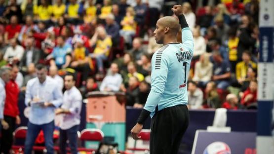 El arquero de Handball.