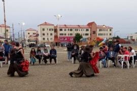 Se realizó el Segundo Encuentro Folclórico en el Orkeke de Río Gallegos