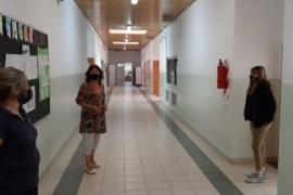 Educación recorrió establecimientos educativos en Río Gallegos