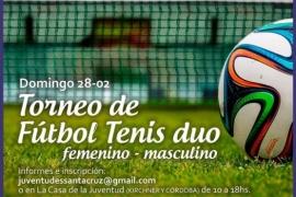 Este domingo se realizará un Torneo de Fútbol-Tenis en Río Gallegos