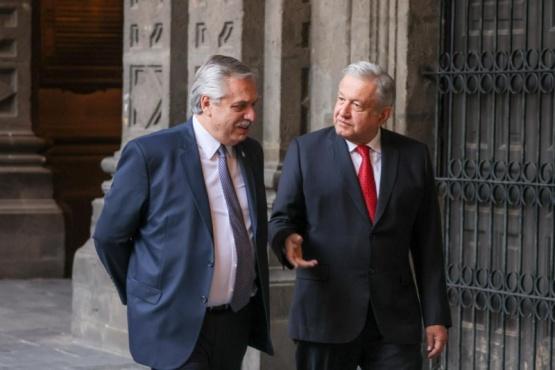 Alberto Fernández mantuvo a agenda de trabajo con su par Andrés Manuel López Obrador
