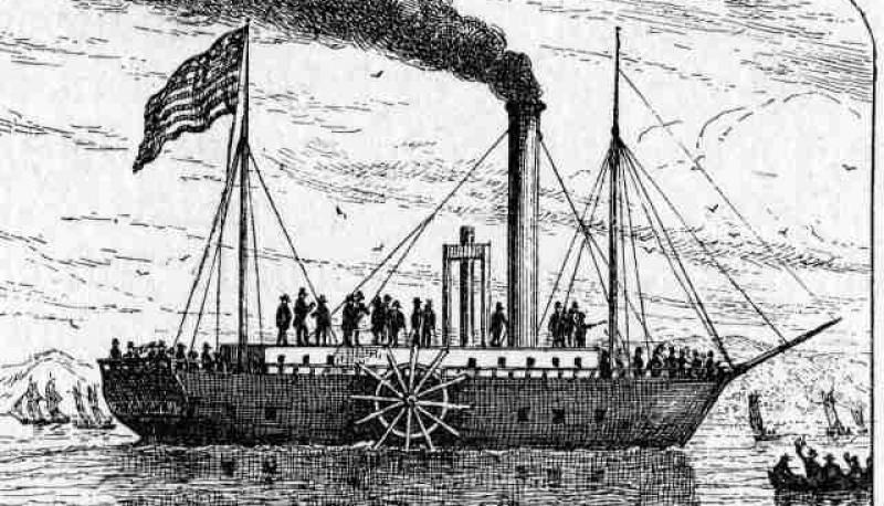 El 24 de Febrero de 1815, fallece Robert Fulton, conocido por desarrollar el primer barco de vapor que fue un éxito comercial.