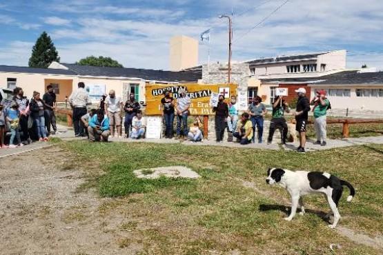 Los vecinos reclamaron contra la vacunación de funcionarios en Gobernador Gregores
