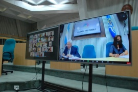 La Sesión Inaugural en Cámara de Diputados será virtual