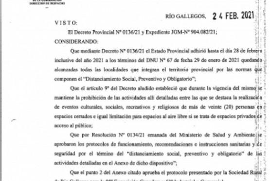 """Autorizaron la realización de la """"Exposición Ganadera, Industrial y Comercial"""""""