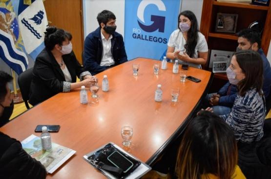 Funcionarios de Nación superviusaron obras en Río Gallegos
