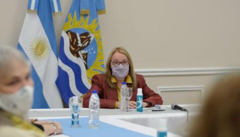Alicia Kirchner recibió a autoridades de ANSES