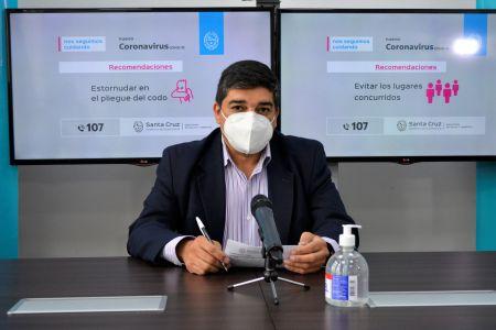 """García: """"A través del sitio Vacunar Para Prevenir se puede sacar el turno y se garantiza que cada persona tenga una vacuna"""""""