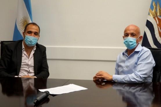Municipio y el CPE firmaron un acuerdo de cooperación para realizar prácticas profesionalizantes