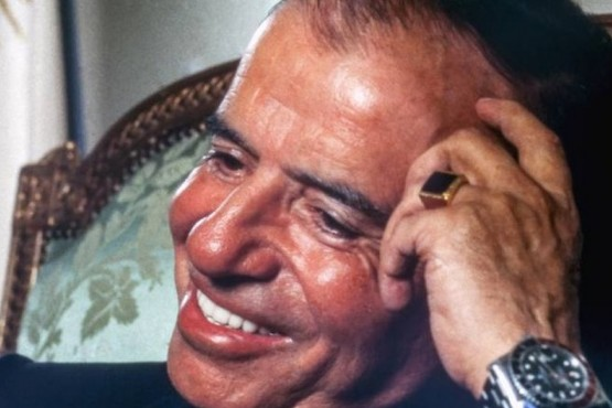 Identificaron al enfermero que robó el famoso anillo de Carlos Menem