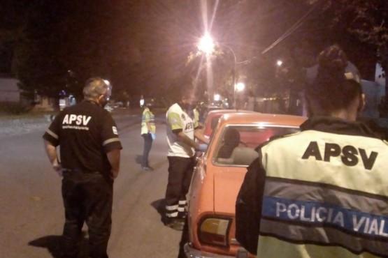 Detectaron un motociclista en estado de ebriedad en Esquel