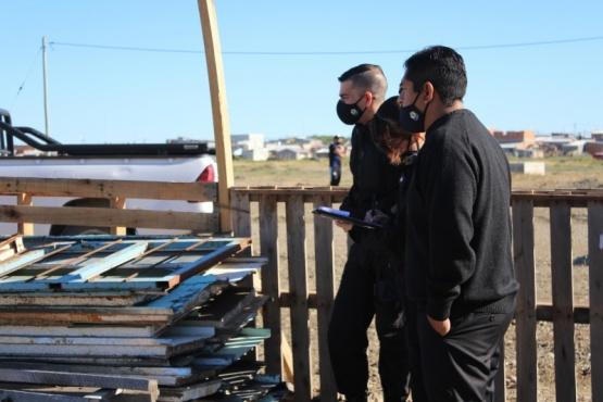 Municipio de Río Gallegos  y Policía impidieron usurpación de terreno