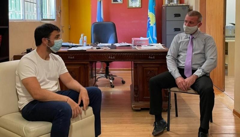 """Torres se reunió con Darío James y evaluaron un programa de """"ingresos brutos cero"""""""