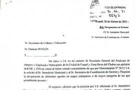 SOEMEyZO exige el llamado a concurso en la Secretaría de Cultura municipal de Esquel
