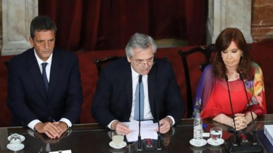 Alberto Fernández le pidió a la militancia que no marche al Congreso