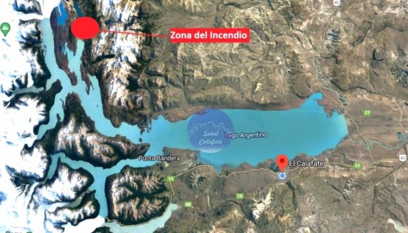 Brigadistas viajaron hasta Estancia Cristina en El Calafate