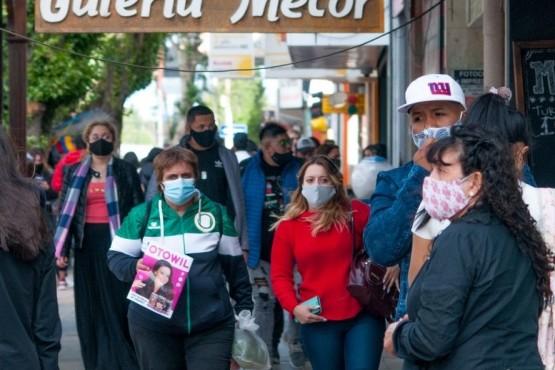 Registro de casos de coronavirus en Santa Cruz