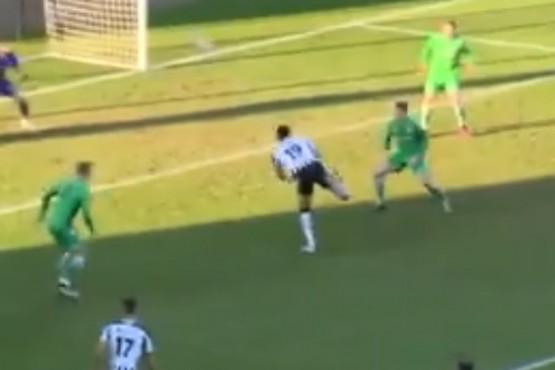 Un increíble gol de taco que se hizo viral y es candidato al Puskas