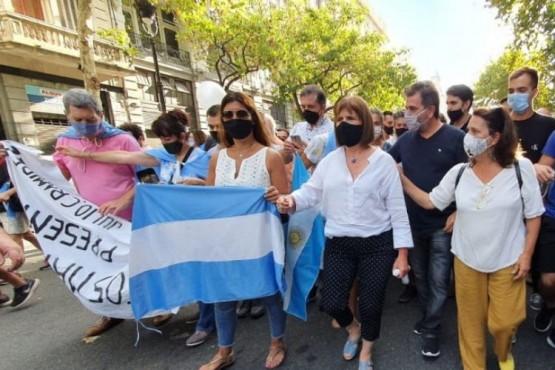 Juntos por el Cambio le respondió a Alberto Fernández por las bolsas mortuorias del 27F