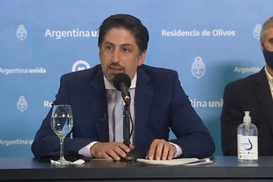 Nicolás Trotta estima que la vacunación a docentes y no docentes estará completa