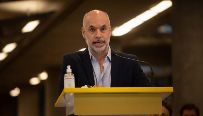 Horacio Rodríguez Larreta asistirá a la apertura de sesiones en la Legislatura porteña de forma virtual