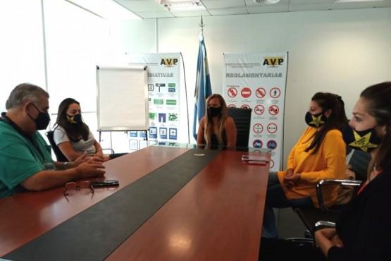 La APSV y Vialidad Provincial coordinan acciones conjuntas