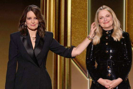 Tina Fey y Amy Poehler, comediantes de Saturday Night Live.