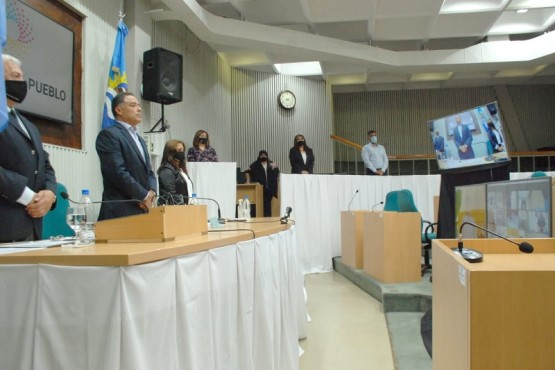 El vicegobernador Eugenia Quiroga encabezó la sesión preparatoria.