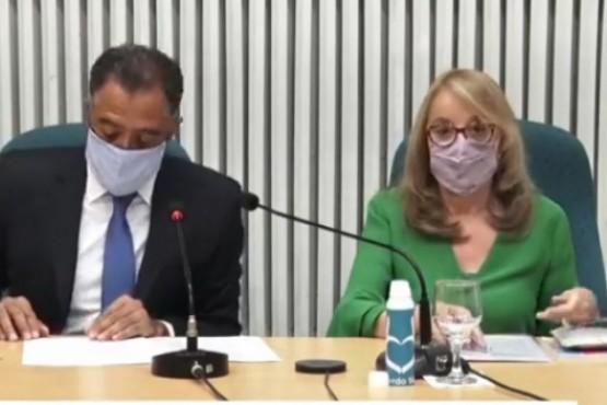 Alicia Kirchner en la Cámara de Diputados.
