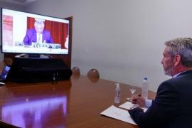 Arcioni destacó el discurso de Alberto Fernández en el Congreso