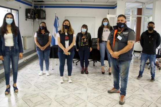 Producción recibió visita de Comercio y Defensa al Consumidor de Río Gallegos