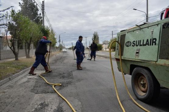Municipio de Río Gallegos informa cortes de circulación en la Avenida San Martín