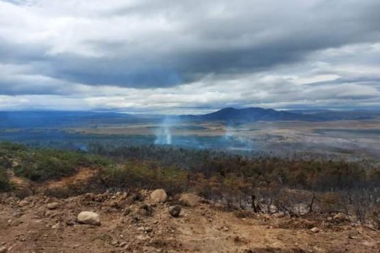 Corcovado - Brigadistas lograron contener el incendio