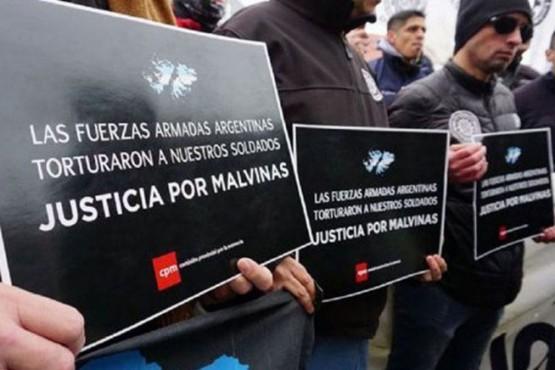 Justicia por Malvinas