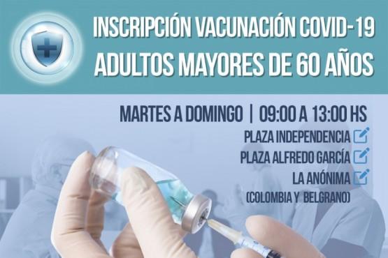 Trelew | El Municipio presentó el plan de ayuda para que adultos mayores puedan inscribirse a la vacunación