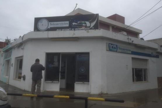 Robaron las oficinas de Teleservicios (El Caletense)