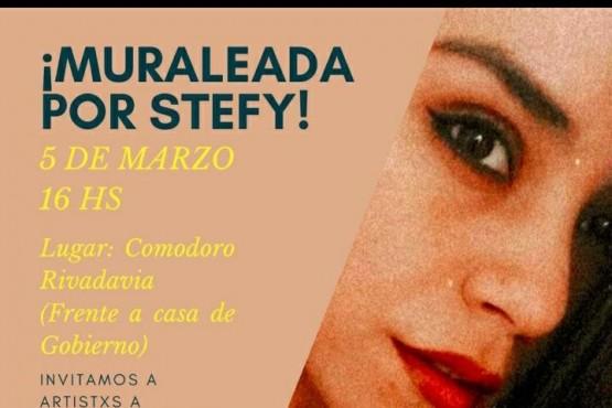 Cuerpas ausentes realizarán un mural a un año de la muerte de Stefanía Rosales.